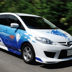 Mazda lanza el primer híbrido a hidrógeno