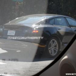 Primeras fotos espia del Tesla Model S 2012