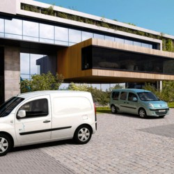 Renault Kangoo ZE, elegido «International van of the year 2012»