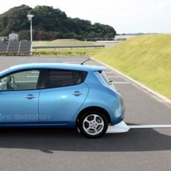 Nissan investiga una recarga inalámbrica más potente