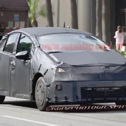 Cazada la nueva versión del Toyota Prius