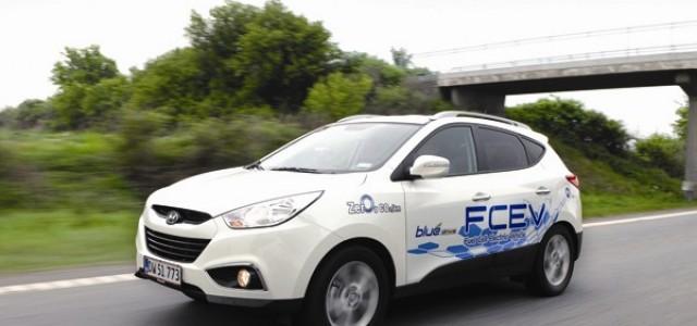 El próximo año comenzará la distribución del Hyundai ix35 a hidrógeno. 499 dólares al mes y repostajes gratis