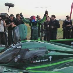 Drayson Racing alcanza los 328 km/h. Nuevo récord de velocidad para eléctricos