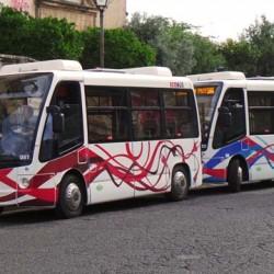 Córdoba inaugura una línea de autobuses eléctricos