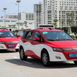 Taiwán incorporará 1.500 taxis eléctricos de BYD