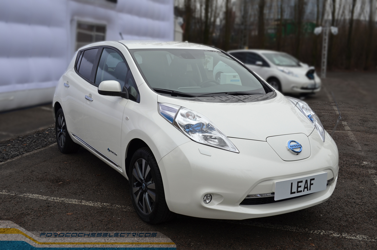 el nissan leaf logra matriculaciones en europa durante el mes de septiembre. Black Bedroom Furniture Sets. Home Design Ideas