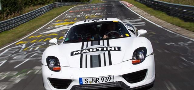 Vídeo del récord logrado por el Porsche 918 Spyder en Nürburgring