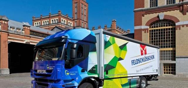 BRUSA EFORCE, un camión de 18 toneladas eléctrico