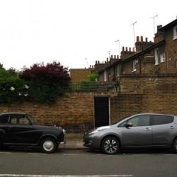 Prueba del Nissan LEAF 2013 en las calles de Londres