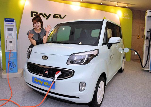 Kia Ray EV , รถซิตี้คาร์พลังงานไฟฟ้าจาก Kia Motors เกาหลีใต้ - 03
