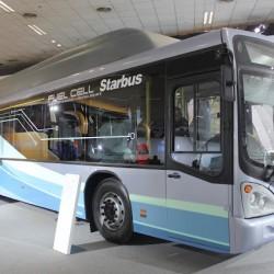 El consumo de energía de un autobús a hidrógeno es solo un 30% menor que el de un diésel