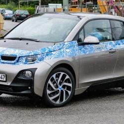 El BMW i3 pillado casi sin camuflaje