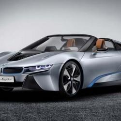 El BMW i8 Spyder llegará en 2018