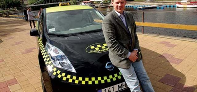 Entrevista con el propietario de la primera compañía de taxis eléctricos de Europa