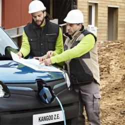 La furgoneta eléctrica Renault Kangoo ZE, nombrada vehículo eléctrico del año