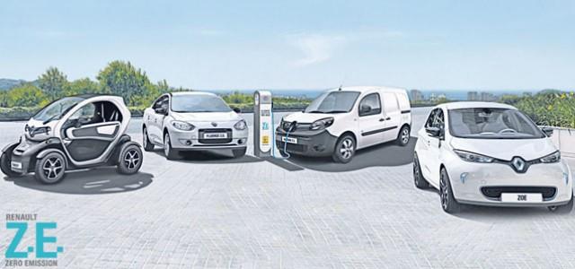 Renault llega a las 100.000 baterías alquiladas en su programa de coches eléctricos