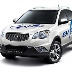 Ssangyong Korando C EV-R, el primer enchufable de los coreanos