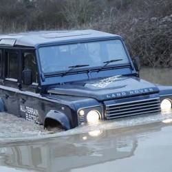 El Land Rover Defender eléctrico se pone a prueba