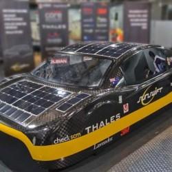 eVe, el coche solar que alcanza los 140km/h