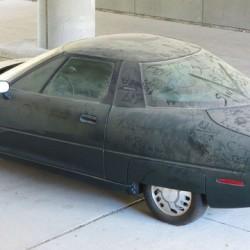 El GM EV-1 que fue abandonado