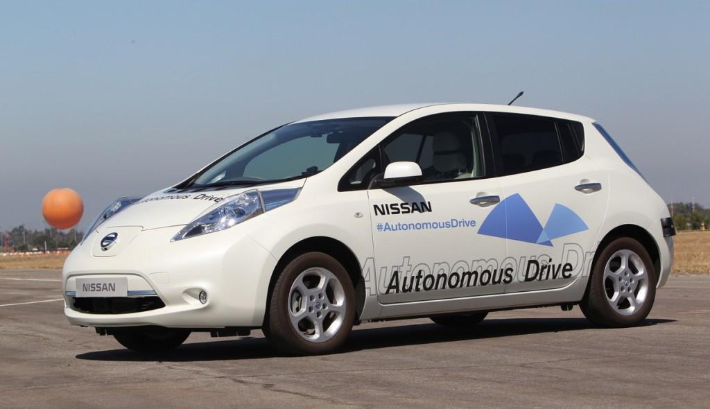 autonomía nissan leaf