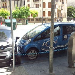 Semana Europea de la Movilidad: Exposición de coches eléctricos en Pamplona