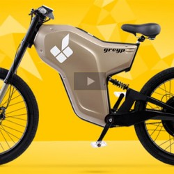 Greyp G-12, la bici eléctrica de Rimac