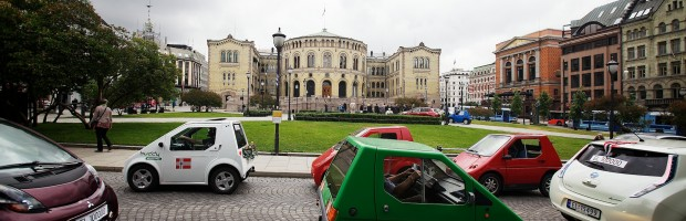 oslo record coches electricos