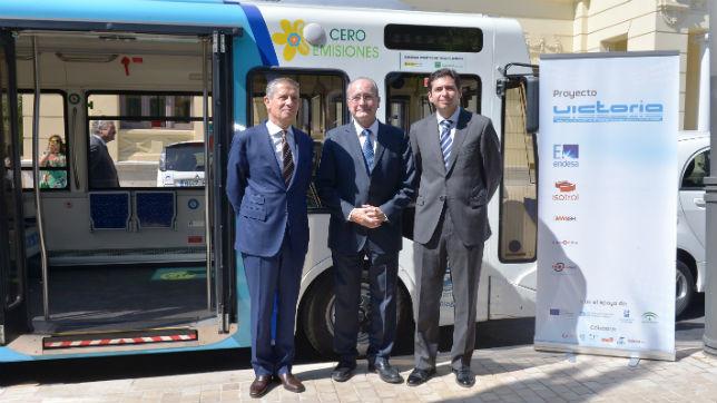 autobus eléctrico malaga