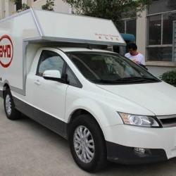 BYD prepara una gama de furgonetas eléctricas