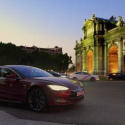 Madrid-Escocia en un Tesla Model S