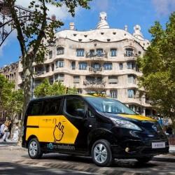 Nissan e-NV200, el taxi del futuro de Barcelona