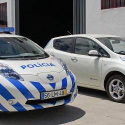 El Nissan LEAF se extiende entre las flotas de la policía en Europa