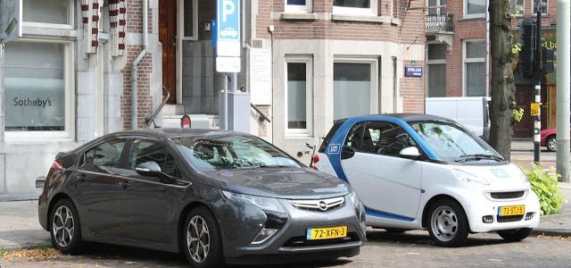 Explosión de ventas de coches eléctricos en Holanda