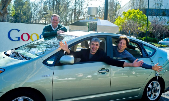 the-founders-of-google-and-one-of-their-autonomous-toyota-prius-hybrids_100389905_m
