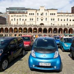 Concentración récord de coches eléctricos en Oslo