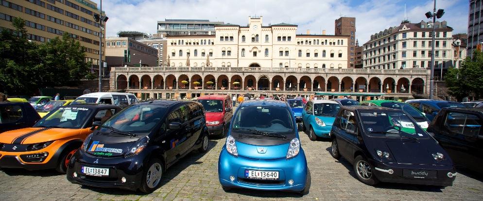 oslo electric car record