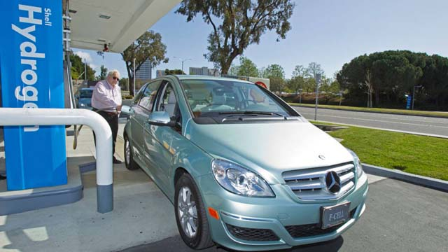 coche electricos contra hidrógeno