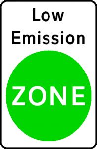 Low-emission-zone