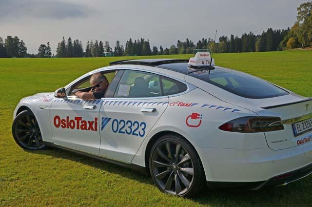 oslo taxi model s