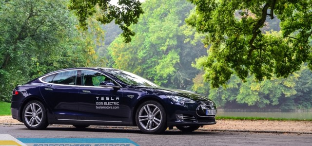 Prueba del Tesla Model S