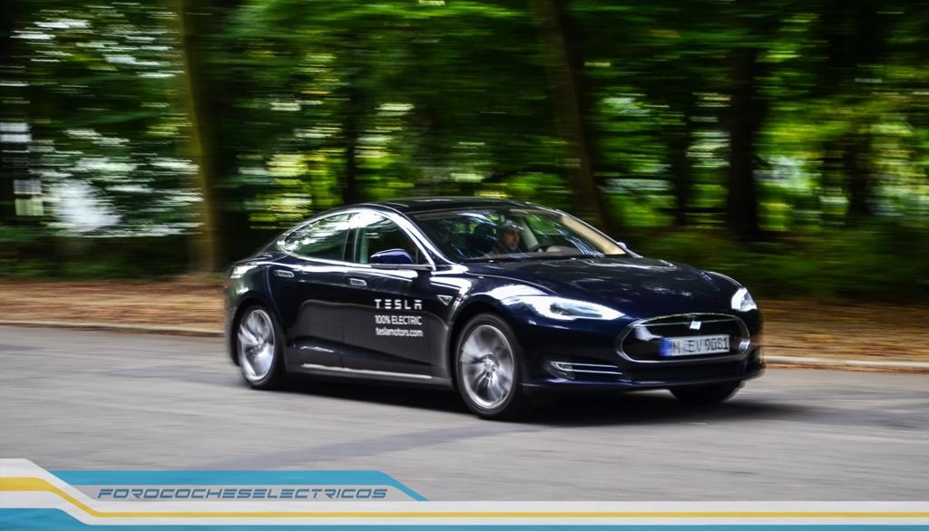 Prueba Tesla Model S 10