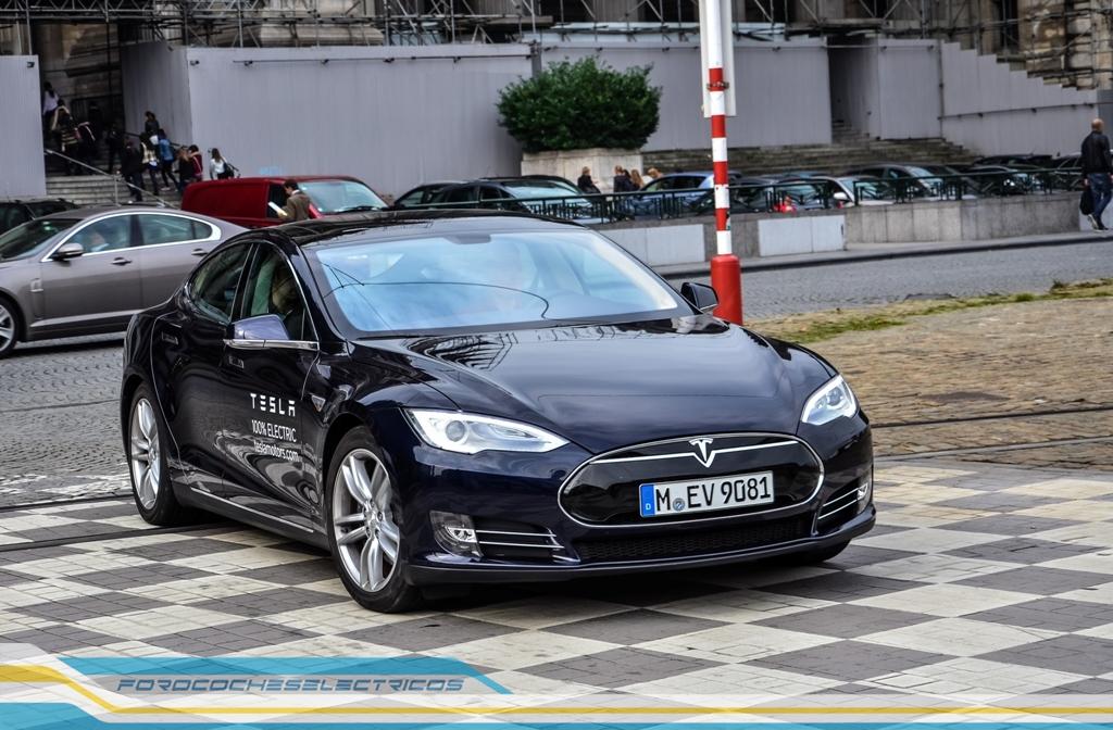 Prueba Tesla Model S 32