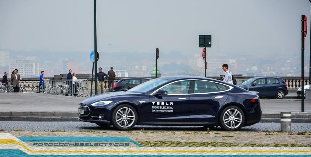 Prueba Tesla Model S 35