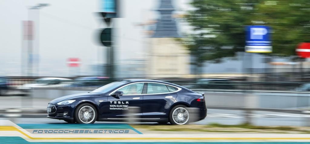 Prueba Tesla Model S 40
