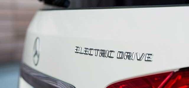 La autonomía del Mercedes Clase B eléctrico. Según el ciclo EPA, 140 kilómetros con cada carga