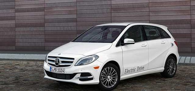 El Mercedes Clase B eléctrico llegará en 2015, y costará 38.900 euros