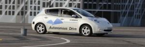 nissan leaf coche autonomo