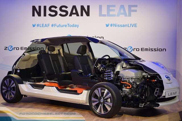 nissan leaf 2013 seccionado