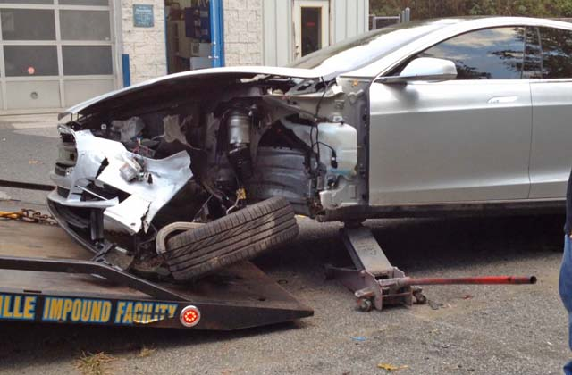 tesla model s accidente